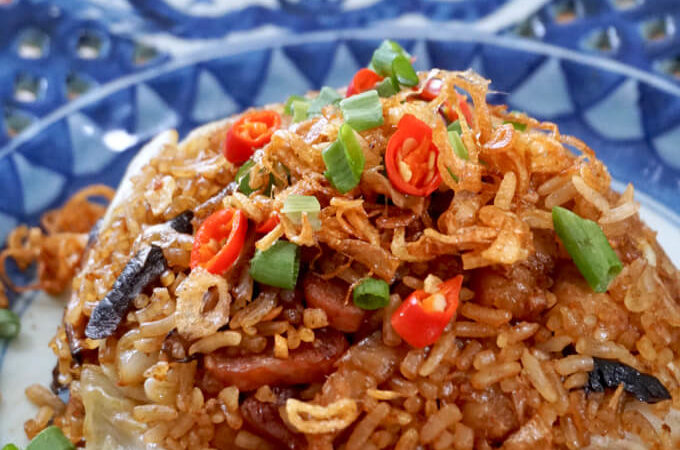 Cantonese Cabbage Rice