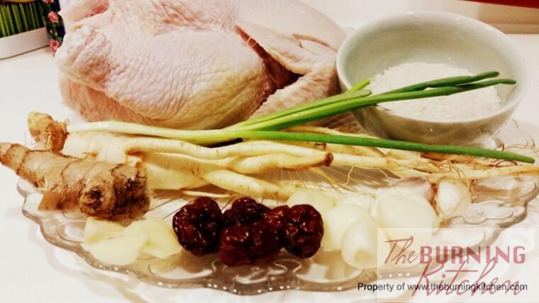 Korean Ginseng Chicken (Sangyetang) Korean Ginseng Chicken (Sangyetang) Recipe