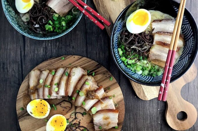 Tonkotsu Ramen with Pork Belly Chashu