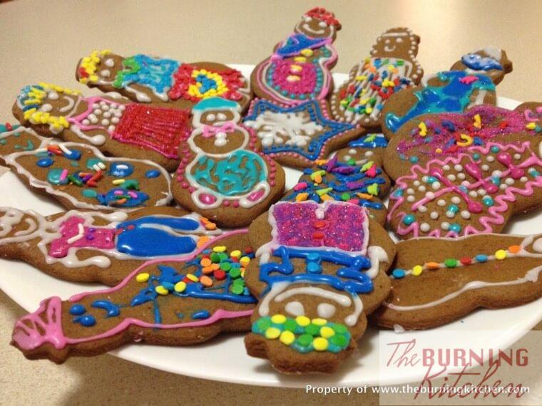 Soft and Chewy Gingerbread Cookies Recipe