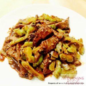 Stir-fried_Beef_with_Bittergourd_Recipe