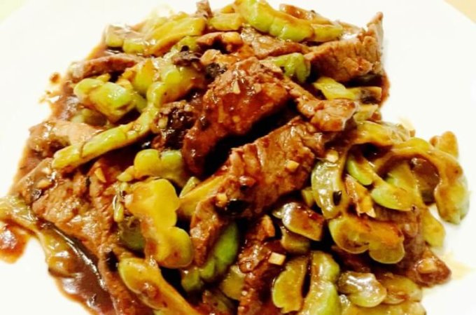 Stir-fried Beef with Bitter Gourd Recipe