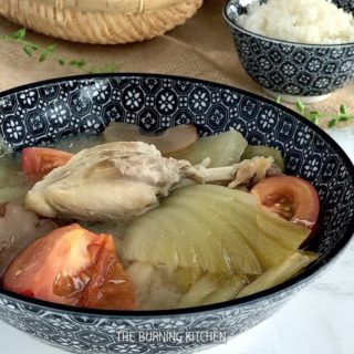 Salted Vegetable Duck Soup (咸菜鸭汤 or Kiam Chye Ark): This savoury Chinese soup cooked with salted mustard green and fresh whole duck is very popular during festive occasions and special gatherings - it is a must for my family every Chinese New Year!