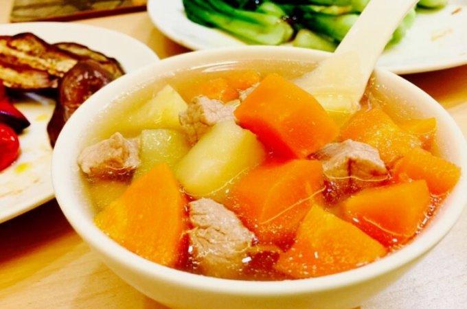 Potato, Tomato and Carrot Soup (ABC Soup)