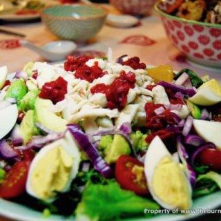 Cold Crab Salad in Citrus Dressing