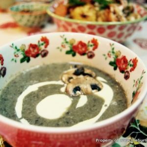 Homestyle Creamy Mushroom Soup: My favourite creamy mushroom souprecipeby far - creamy but not overwhelmingly so, not starchy, full of earthy mushroom flavour and a beautiful texture and mouthfeel!