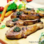 Rosemary Lamb Cutlets with Mint Sauce