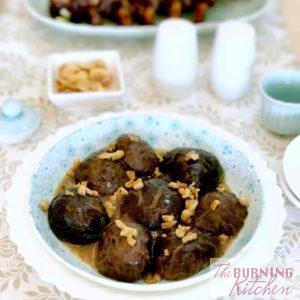 Braised Chinese Shitake Mushroom Recipe – Version 2