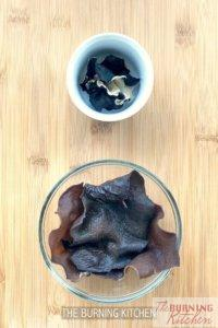 The Burning Kitchen | Black Fungus Chicken in Wine Recipe