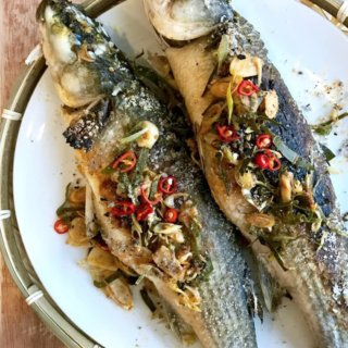 The Burning Kitchen | Thai Lemongrass Mullet