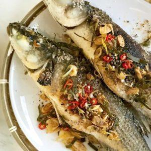 Thai Smoked Lemongrass Fish