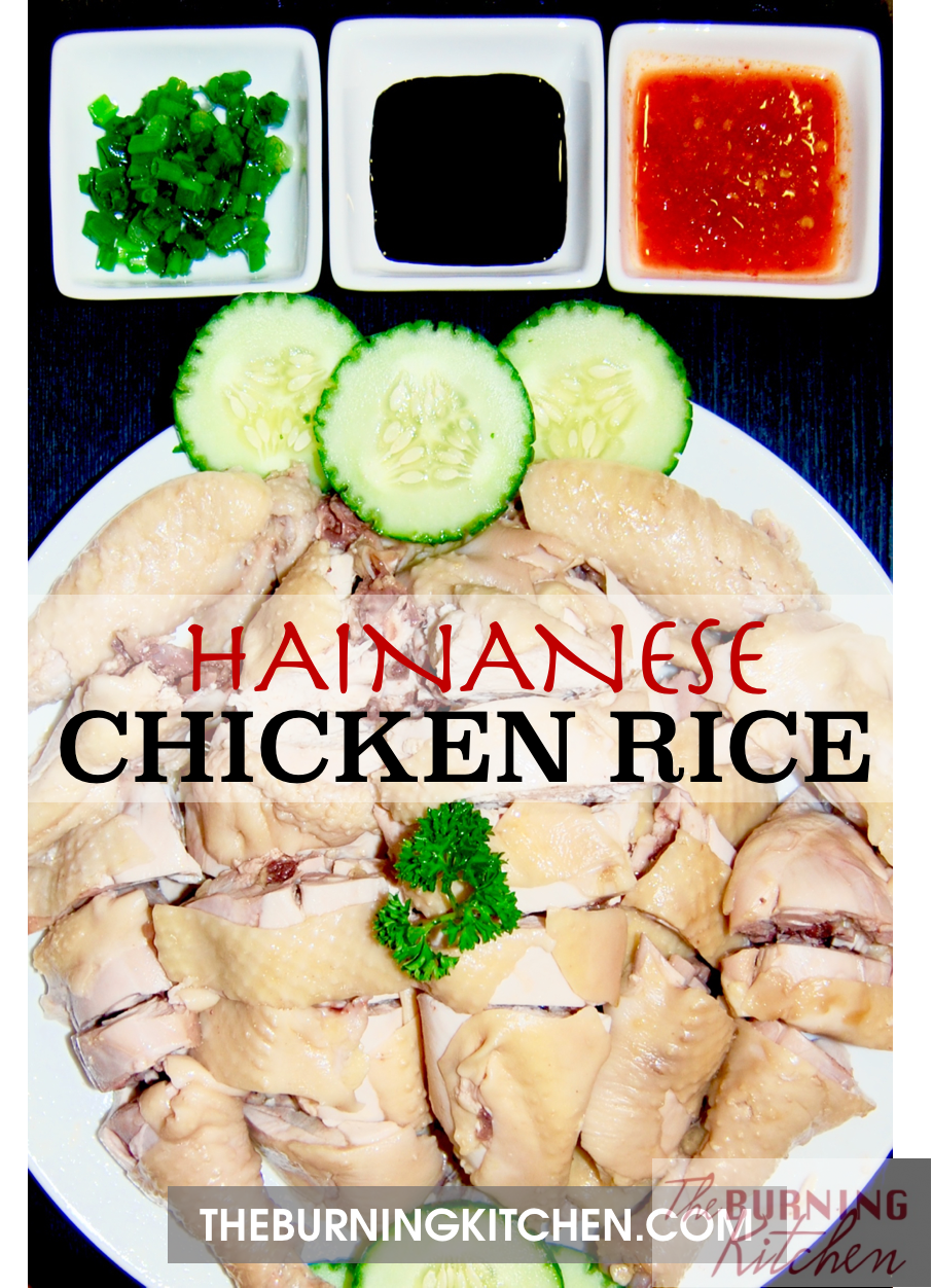 One of Singapore's most famous dishes, Hainanese Chicken Rice is a must try for people all around the world when they visit. But why wait when you can make your own? Visit Singapore without leaving your kitchen with this recipe! #hainanesechickenrice #singaporestyle #iconicdish