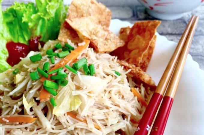 Vegetarian Bee Hoon (Zai Mi Fen)