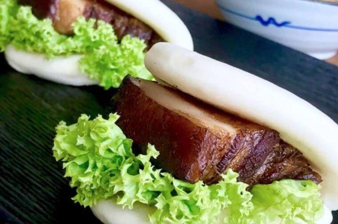 Braised Pork Buns (Kung Bak Pao 扣肉包)