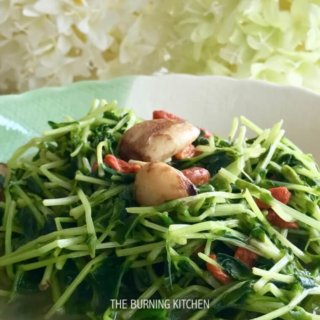 Stir-fried Garlic Dou Miao Recipe