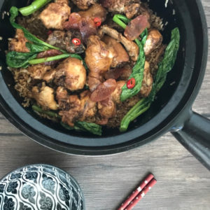 Traditional Clay Pot Rice with Chicken