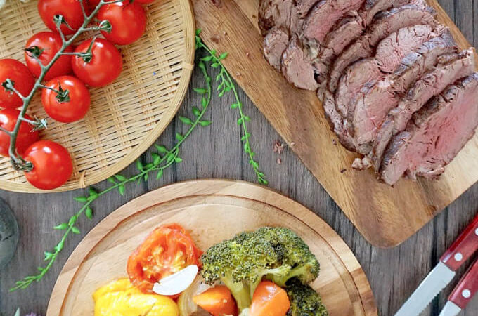 Roast Beef Tenderloin with Grilled Vegetables (Part 2)