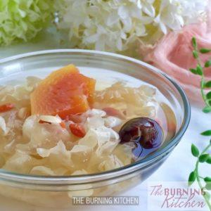 Papaya and Snow Fungus Dessert 1x1