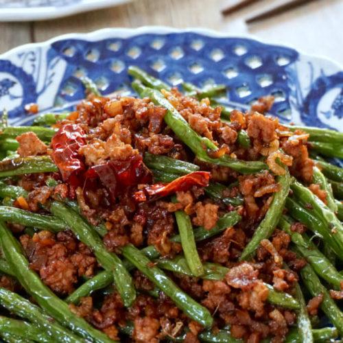 Szechuan Dry-Fried String Beans 16x9