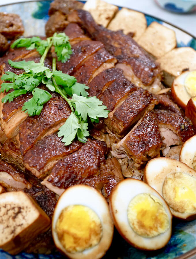 The burning kitchen authentic chinese recipes made easy hokkien braised duck lor ark this beloved hokkien family recipe was passed down forumfinder Choice Image