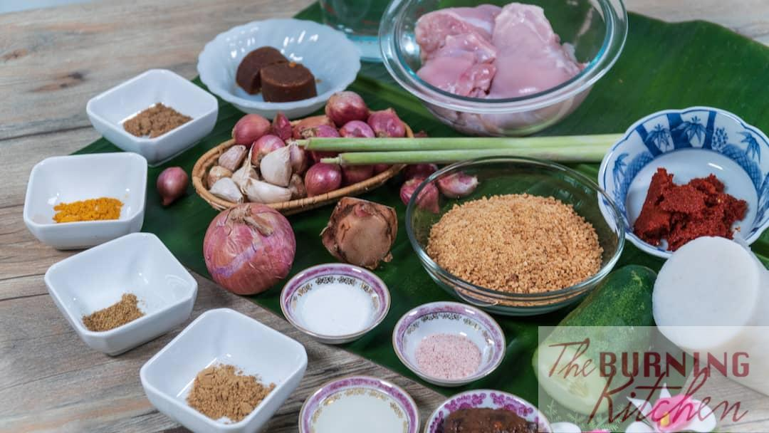 Satay Ingredients