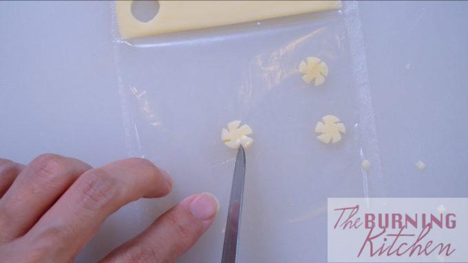 Cut Incisions to Mimic Petals