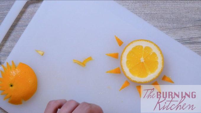 Cut the Orange into the Sun and Birds