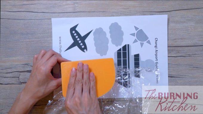 Use a Spatula to help Shape the Rice