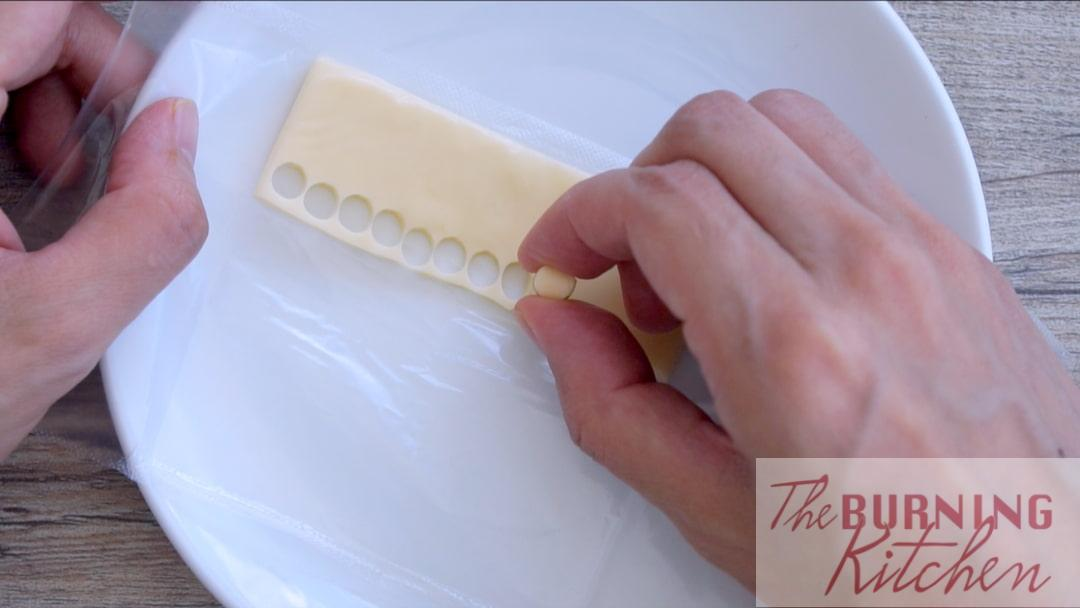 Use a Straw to Cut the Cheese
