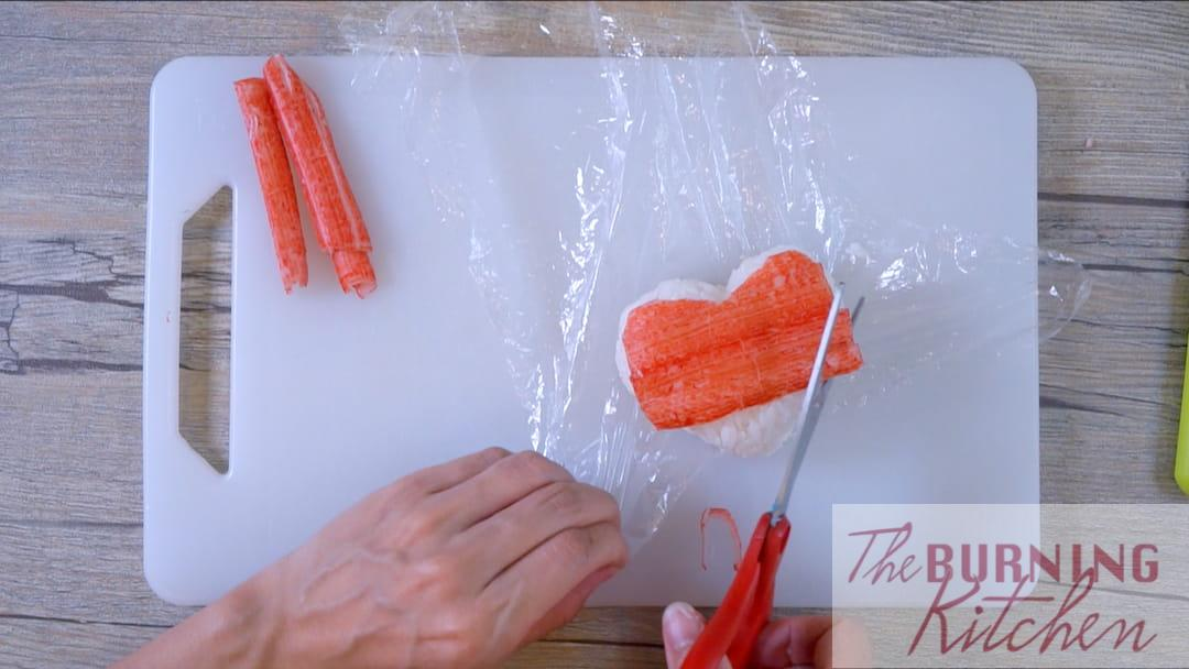 Wrapping the Heart with Crab Sticks
