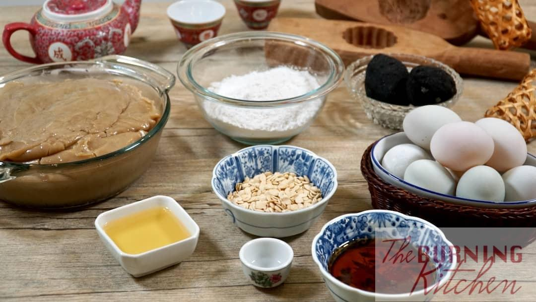 Mooncake Ingredients