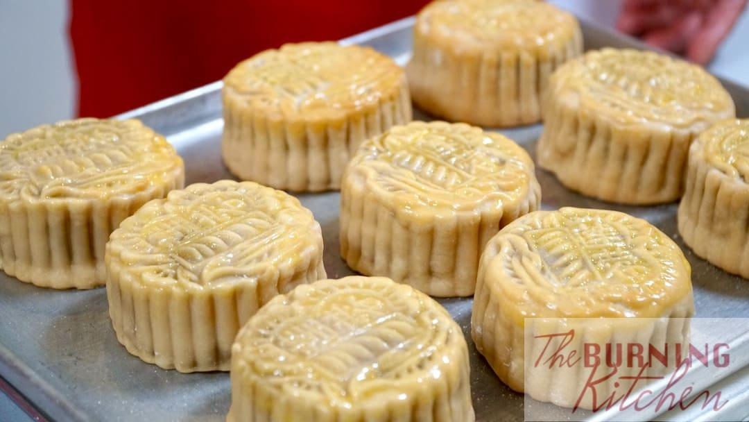 Mooncakes with Egg Wash